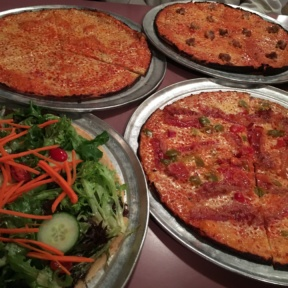 Gluten-free pizzas from Colony Pizza