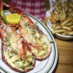 Gluten-free lobster and fries from Connie and Ted's