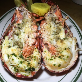 Gluten-free lobster from Connie and Ted's