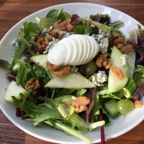 Gluten-free salad from Coral Tree Cafe