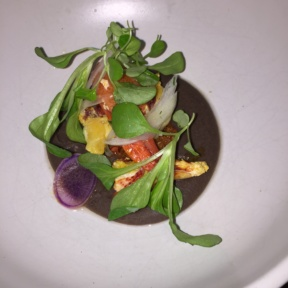 Gluten-free lobster salad from Cosme