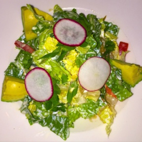 Gluten-free salad from DBGB Kitchen & Bar