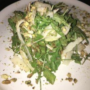 Gluten-free salad from Dante