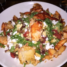 Gluten-free lobster salad from Darien Social