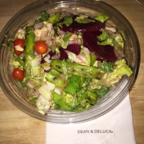 Gluten-free salad from Dean and Deluca