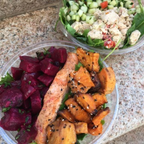 Gluten-free salads from Delectica