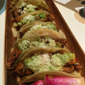 Gluten-free tacos from Delicatessen