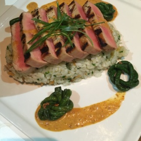 Gluten-free ahi tuna from Delicatessen
