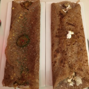 Gluten-free crepes from Delice & Sarrasin