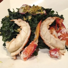 Gluten-free lobster salad from Delmonico's Restaurant