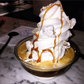 Gluten-free soft serve from Dessert Club Chikalicious