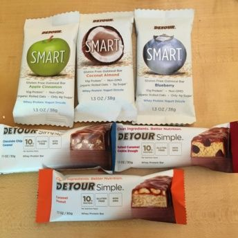 Gluten-free bars from Detour Bars