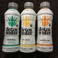 Gluten-free aloe water from Detox Water