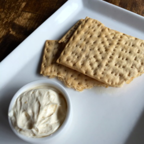 Gluten-free crackers from Dirt Candy