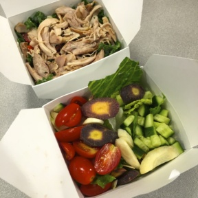 Gluten-free salads from Dirty Bird To Go