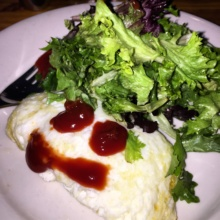 Gluten-free omelette from Ditch Plains