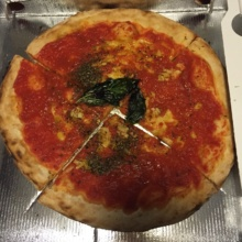 Gluten-free marinara pizza from Don Antonio by Starita