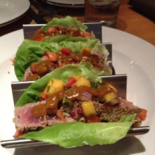 Gluten-free tuna from Dos Caminos