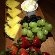 Gluten-free fruit platter from Drexler's