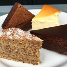 4 types of Gluten-free cakes from Duane Park Patisserie