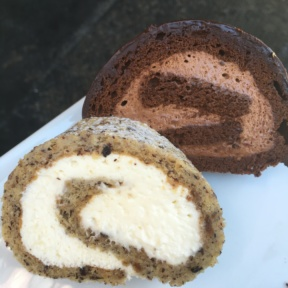 Gluten-free vanilla and chocolate cakes from Duane Park Patisserie