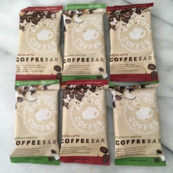 Gluten-free coffee bars from Eat Your Coffee