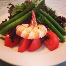 Gluten-free lobster salad from Ed's Lobster Bar