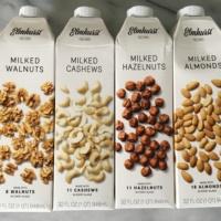 Gluten-free nut milks from Elmhurst