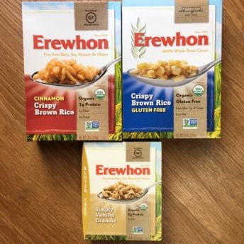 Gluten-free granola and cereal from Erewhon