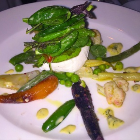 Gluten-free salad from Esca