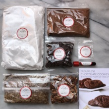 Flourless chocolate cookies from Red Velvet