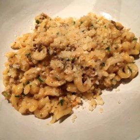 Gluten-free pasta dish from Faro