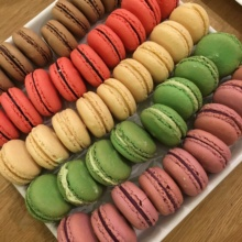 Gluten-free macarons from Financier Patisserie