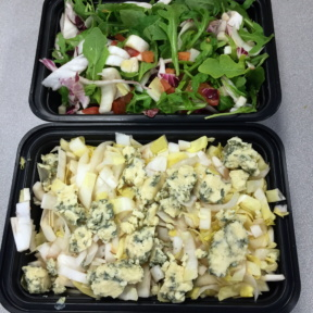 Gluten-free salads from Fino