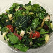 Gluten-free salads from Flavors