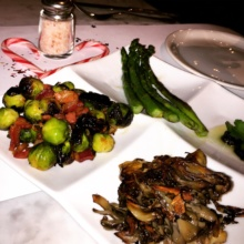 Gluten-free veggies from Florian Cafe