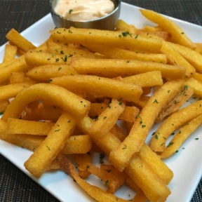 Gluten-free fries from Fogo de Chao