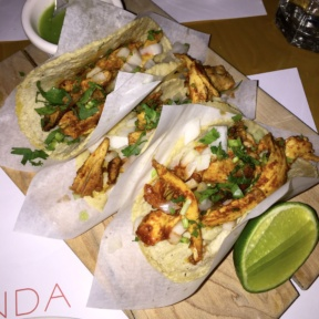 Gluten-free tacos from Fonda