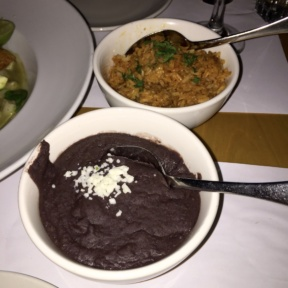 Gluten-free rice and beans from Fonda