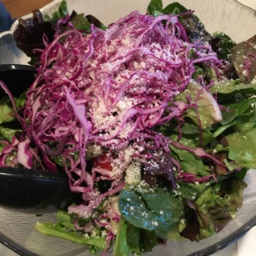 Gluten-free house salad from Frank Pepe Pizzeria