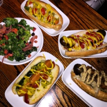 Gluten-free hot dogs from Franktuary