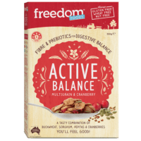 Gluten free and nut free cereal by Freedom Foods