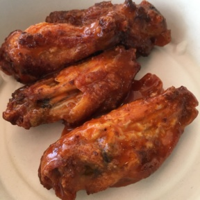 Gluten-free chicken wings from Fresh Brothers