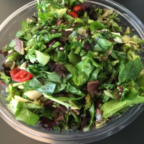 Gluten-free salad from Fresh Brothers