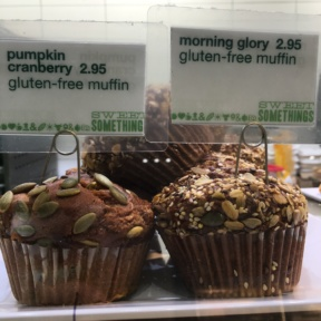 Gluten-free muffins from Fresh & Co