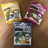 Gluten-free fruit and nut bites from Frontier Bites