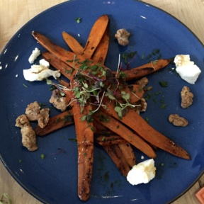 Gluten-free roasted carrots from Gardenia
