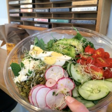 Gluten-free salad from Genuine Suprette