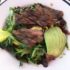 Gluten-free steak salad from Gladstone's