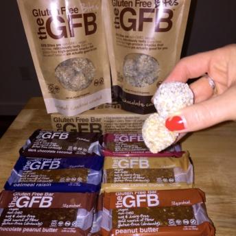 Gluten free protein bites by Gluten Free Bar